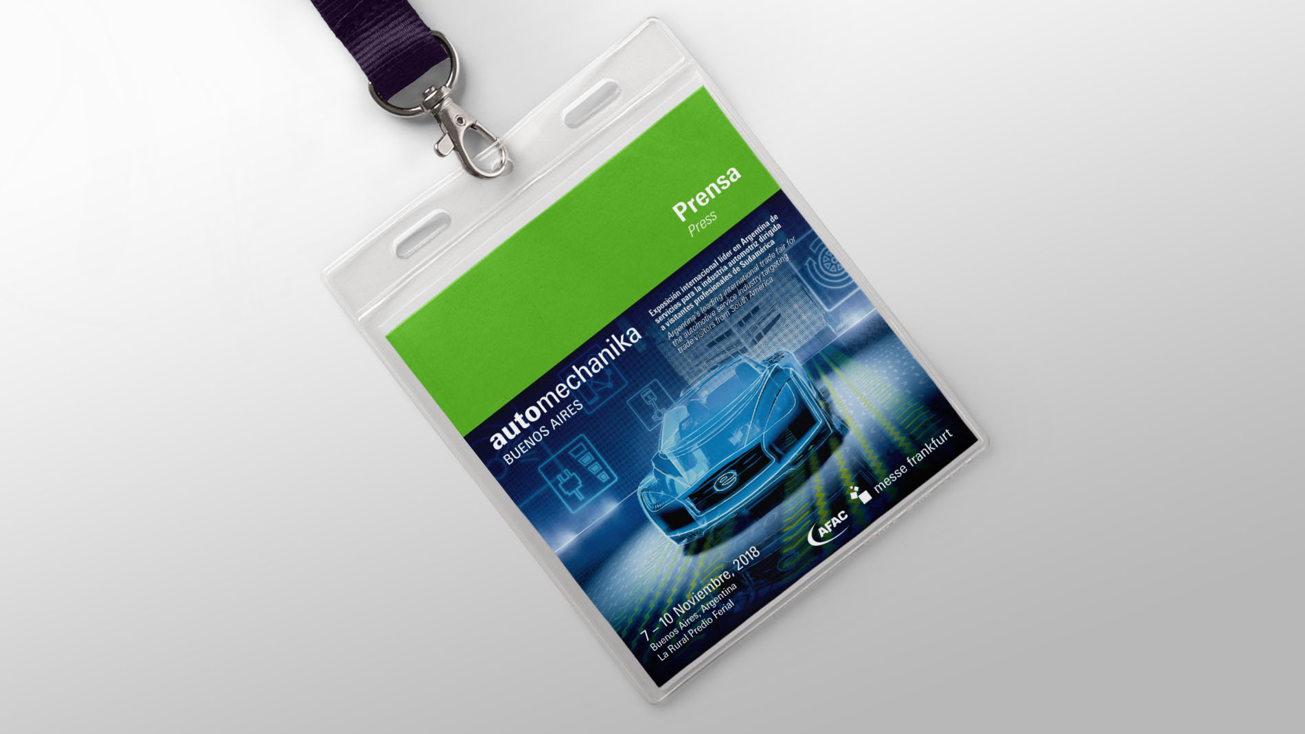 Automechanika Buenos Aires - Press accreditation