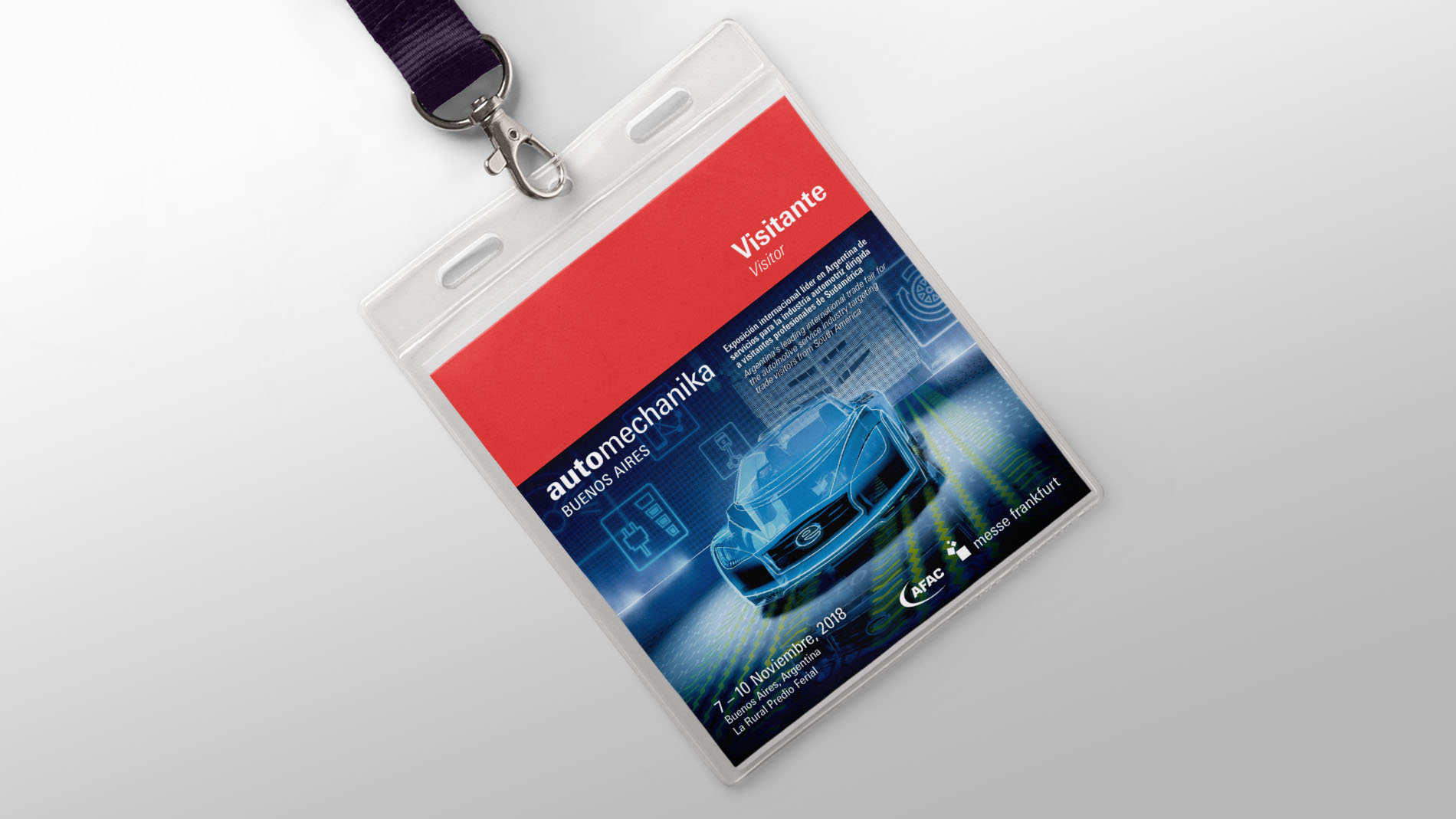 Automechanika Buenos Aires - visitor accreditation